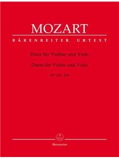 Wolfgang Amadeus Mozart: Duos (2), (K.423,424) (Urtext). Books   Violin, Viola