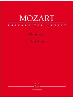 Wolfgang Amadeus Mozart: Piano Trios, complete (K.254, 496, 498, 502, 542, 548, 564) Appendix - 3 Fragments completed by M Stadler K.442 (Urtext). Books | Chamber Group