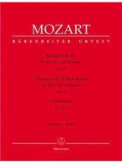 W.A. Mozart: Piano Concerto No.9 In E-Flat K.271 - Jeunehomme (Full Score) Books | Orchestra, Piano