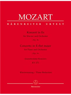 W.A. Mozart: Piano Concerto No.9 In E-Flat K.271 - Jeunehomme (Piano Reduction) Books | Two Pianos