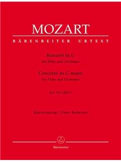 W.A. Mozart: Concerto In G For Flute Kv.313 (Barenreiter Urtext Edition) Books | Flute, Piano Accompaniment
