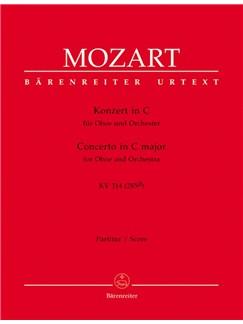W.A. Mozart: Oboe Concerto In C K.314 (Full Score) Books | Oboe, Orchestra