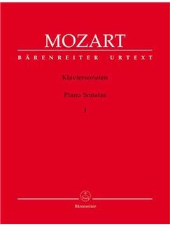 W.A. Mozart: Piano Sonatas - Volume I (Barenreiter Urtext Edition) Books | Piano