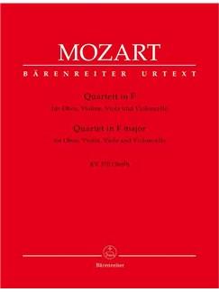 Wolfgang Amadeus Mozart: Oboe Quartet in F (K.370) (Urtext). Books | Chamber Group
