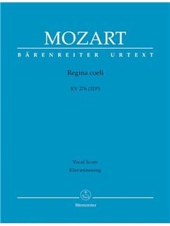 W. A. Mozart: Regina Coeli In C K.276 (Vocal Score) Books | Orchestra