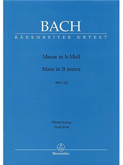 J.S. Bach: Mass in B minor (BWV 232) (Urtext) Books | SATB