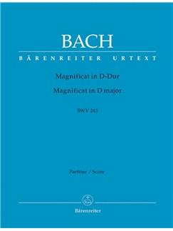 J.S. Bach: Magnificat In D BWV243 (Full Score) Books |