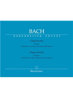 J.S. Bach: Organ Works - Volume 5 (Barenreiter Urtext Edition) Books | Organ