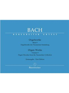 J.S. Bach: Organ Works Volume 9 - Organ Chorales From The Neumeister Collection Books | Organ
