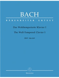J.S. Bach: The Well-Tempered Clavier I - 48 Preludes And Fugues BWV 846-869 Books | Piano