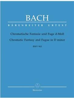 J.S. Bach: Chromatic Fantasy And Fugue Bwv 903 Libro | Piano