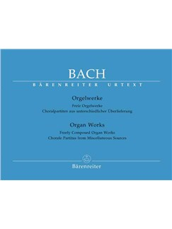 J.S. Bach: Organ Works - Volume 11 Books | Organ