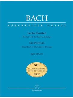J.S. Bach: Partitas (6), (Klavieruebung Part 1) (BWV 825-830) (Urtext). Books | Piano