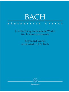 J.S. Bach: Keyboard Works Attributed To J.S. Bach Books | Piano