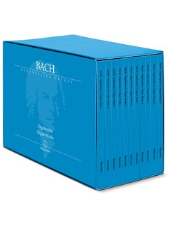 J.S. Bach: Complete Organ Works in Eleven Volumes (Barenreiter Performing Edition) Books | Organ