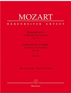 W.A. Mozart: Piano Concerto No.17 In G K.453 (Piano Reduction) Books | Two Pianos
