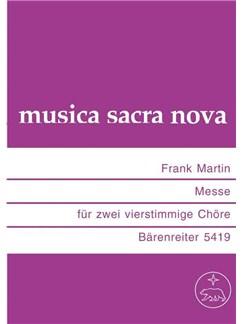 Frank Martin: Messe Books | SATB, SATB