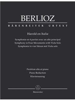 Hector Berlioz: Harold En Italie Hol. 68 Books | Viola, Piano Accompaniment