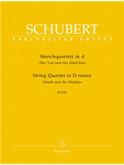 F. Schubert: String Quartet In D Minor D810 - Death And The Maiden (Parts) Books | String Quartet