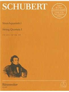F. Schubert: String Quartets - Volume 1 (Parts) Libro | Cuarteto de Cuerda