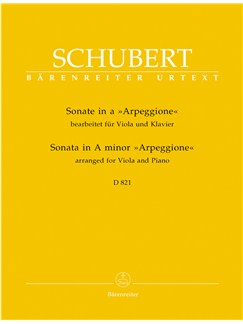 "Franz Schubert: Sonata For Viola And Piano In A Minor D.821 ""Arpeggione"" Books 
