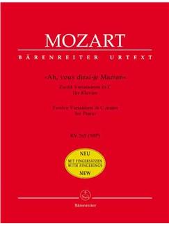 Wolfgang Amadeus Mozart: Ah, Vous Dirai-Je Maman Libro | Piano