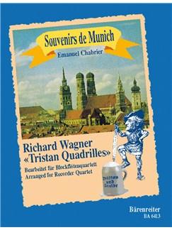 Emmanuel Chabrier: Souvenirs De Munich For Recorder Quartet Books | Recorder (Quartet)