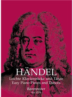 George Frideric Händel: Easy Piano Pieces And Dances Books | Piano