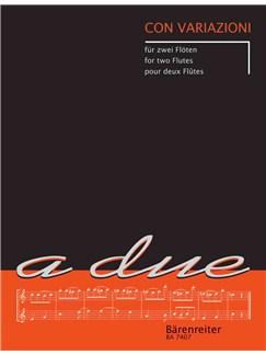 Elisabeth Weinzierl / Edmund Wächter: Con Variazioni Books | Flute