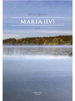 Jansson Marten: Maria (IV) For SATB Chorus Books | Choral, SATB