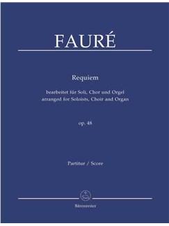 G. Faure: Requiem Op.48 (arranged for Choir & Organ) Libro | SATB, Órgano
