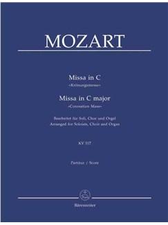 W.A. Mozart: Mass in C major K.317 (Coronation Mass) (arranged for Choir & Organ) Books   Choral, Organ Accompaniment