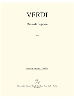 Giuseppe Verdi: Requiem (Messa Da Requiem) - Wind Set Books | Wind Instruments