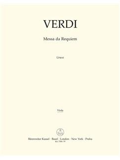 Giuseppe Verdi: Requiem (Messa Da Requiem) - Viola Books | Viola