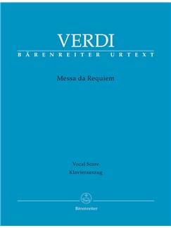 Giuseppe Verdi: Requiem (Messa Da Requiem) - Vocal Score Books   Choral