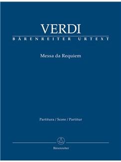 Giuseppe Verdi: Requiem (Messa Da Requiem) - Full Score Books | Choral, Orchestra, SATB