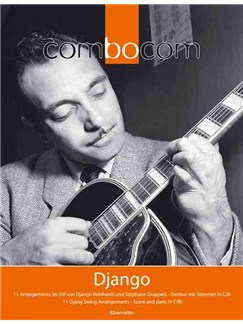 Thomas König: Django (ComboCom) Books | Violin, Guitar, Double Bass