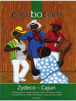 Rolf Schwarzien: Zydeco - Cajun (ComboCom) Books | Melody Line & Chords, Accordion, Percussion