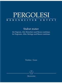 Giovanni Battista Pergolesi: Stabat Mater For Soprano, Alto, Strings And Basso Continuo (Full Score) Books | Soprano, Alto, String Instruments