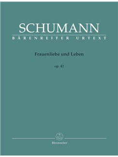 Robert Schumann: Frauenliebe Und Leben, Op.42 - Medium Voice & Piano Books | Voice, Piano Accompaniment