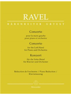 M. Ravel: Concerto For The Left Hand For Piano And Orchestra (Two-Piano Reduction) Bog | To klaverer