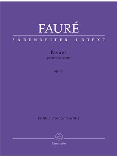 Gabriel Faure: Pavane For Orchestra, Op.50 - Full Score Books | Orchestra