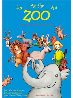 Antoni Cofalik / Romuald Twardowski: Im Zoo - At The Zoo - Au Zoo Books | Cello, Piano