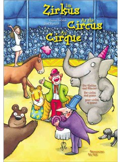 Antoni Cofalik / JózefIm Rychlik: Zirkus - At The Circus - Au cirque Books | Violin, Piano