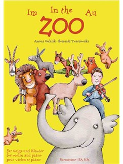 Antoni Cofalik / RomualdIm Twardowski: Zoo - At The Zoo - Au Zoo Books | Violin, Piano