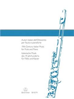 19th Century Italian Music For Flute Books | Flute, Piano