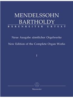 F. Mendelssohn: Organ Works Complete Vol.1 Books | Organ