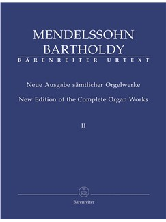 F. Mendelssohn: Organ Works Complete Vol.2 Books | Organ