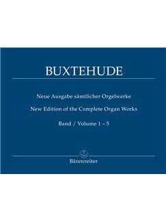 D. Buxtehude: Complete Organ Works Vols 1-5 Books | Organ