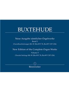 D. Buxtehude: Complete Organ Works Vol.5 Books | Organ